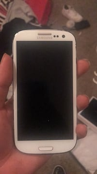 white Samsung Galaxy Android smartphone San Angelo, 76904