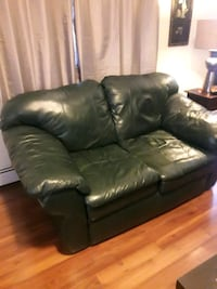 Leather loveseat ,actually 2, mint condition 150.00 each obo..4147661