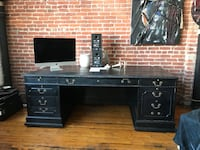black wooden desk with drawer Los Angeles, 90065