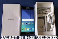 Galaxy S6 GSM UNLOCKED 64GB (Like-New)  Arlington