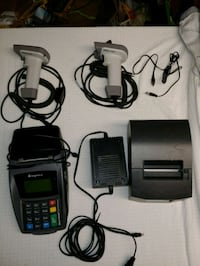 Ingenico With 2 scanners and printer Endicott, 13760
