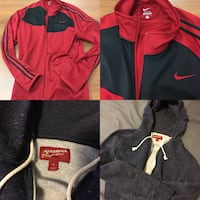 Nearly new Arizona hoodie, nearly new Nike jacket