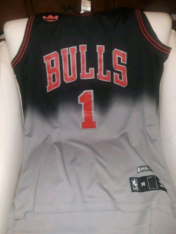 online store 065b6 b79c7 Used Derrick Rose limited edition jersey offer up for sale ...