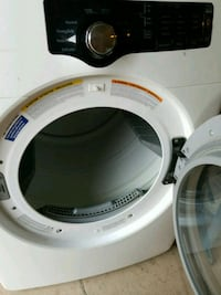 white and black Samsung front-load clothes washer Patterson, 95363