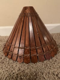 HANDMADE WOODEN LAMP SHADE Houston, 77024