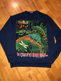 black and green crew-neck long-sleeved shirt Germantown, 20876