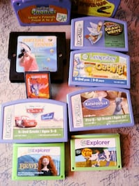 Leapster & others video games