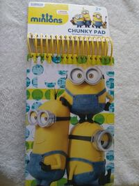 yellow and multicolored Minions chunky pad Palm Bay, 32908