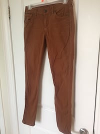 CITIZENS of HUMANITY brown cropped skinny jeans size 25 Vaughan, L4L