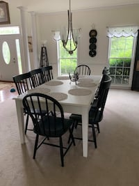 Magnolia Farm House dining Room table with 8 chairs