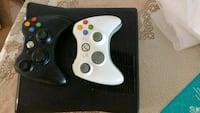 black Xbox 360 game console with controller Toronto, M4A 2X3
