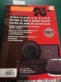 k & n high flow air filter, in the box. I bought it to fit a 2008 r6