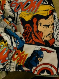 Marvel comic complete twin sheet set $25 for all Palm Desert, 92260