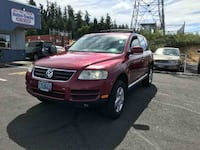 2005 Volkswagen Touareg RED Vancouver, 98663