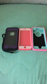 one life proof case 10.00 other to 5.00 a  piece or all  for 20 Iphone 6/6s cases Baltimore, 21206