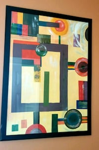 Geometryc abstract painting Tampa, 33607