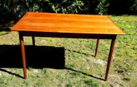 Teak table/desk and chair Duncan, V9L 4K4