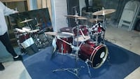COMPLETE DRUM SET W/CYMBALS  & HARDWARE West Milford, 07480