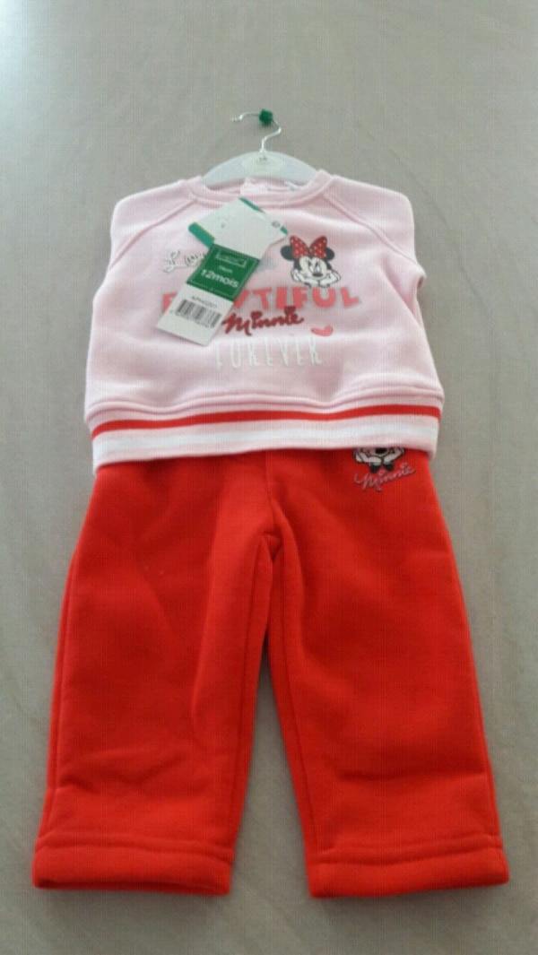 Ensemble jogging minnie 12 mois