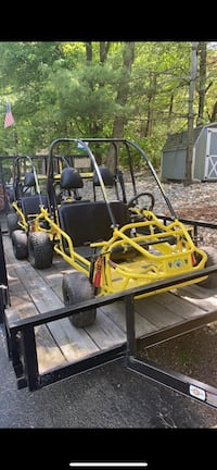 Go karts with trailer