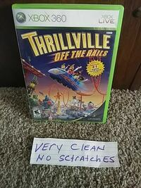 Thrillville off the rails Xbox 360 game case