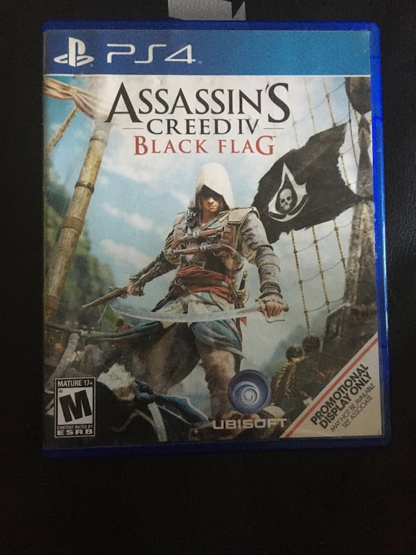 Used Assassin S Creed Iv Black Flag Ps4 For Sale In Milpitas Letgo