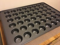 Mini Muffin and Cupcake Pan, Mega, Non-Stick, Mini, 48 Cavity Burnaby, V5B 3J9