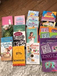 Books children  Most have never been read and opened  Value $ 100+