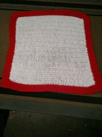 white and red knitted textile Springfield, 65802
