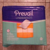 Prevail Underpads for beds pets or cribs 15 Packages available Centennial