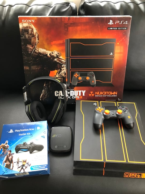 Sold Playstation 4 1tb Console Call Of Duty Black Ops 3 Limited