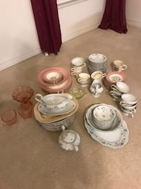 Antique China and glass items - $40 takes all Winter Garden, 34787