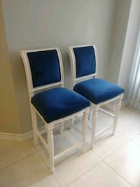 Antique Bar Chairs - Reupholstered Vaughan, L4J 6E6