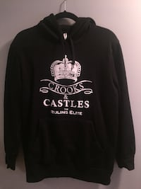 black and white pullover hoodie Cochrane