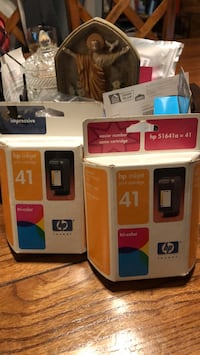 HP #41 tri-color ink cartridges. $10.00 each or $15.00 for both Emmitsburg, 21727