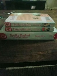 Fruits Basket Manga Ultimate Edition Hardcover and #3-4