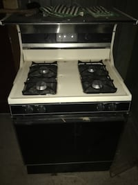 white and black gas range oven Baton Rouge, 70811
