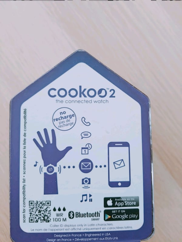 Cookoo 2 Smart Watch 6f612688-9b8e-41c1-8db2-d0b8b9817f3c
