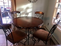 Pub height dining / kitchen table with 4 chairs Hopatcong, 07874
