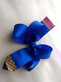 blue and black and blue and white ribbons Spring, 77373