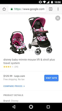 Baby carseat with stroller set Washington, 84780