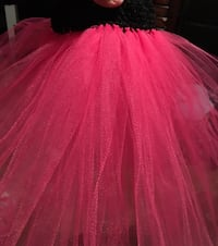 women's pink and black gown Tracy, 95376