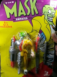 The mask action figure