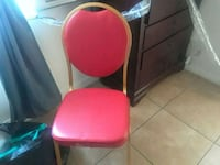 red and black padded chair Bakersfield, 93305