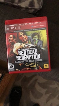 Ps 3 red dead redemption + undead Burnaby, V5B 2B5