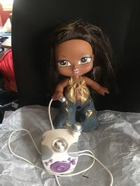 "Bratz 12"" tall she sings and move her hip."