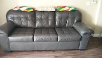 Faux Leather Grey Sofa/Couch -3 seater Los Angeles, 91367