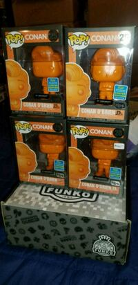 Conan O'brien SDCC exclusive funko pops $40 EACH Toronto, M1L 2T3