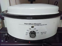 white and black Hamilton Beach slow cooker Hagerstown, 21740