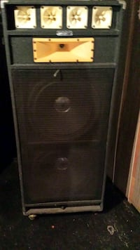Large club speakers  Orange